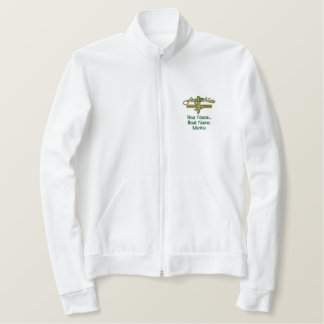 First Mate Mermaid Personalize it! Embroidered Jacket