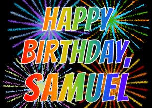 Happy Birthday Samuel Gifts On Zazzle Au
