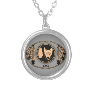 First Nations Necklace Metis Wolf Jewelry Necklace