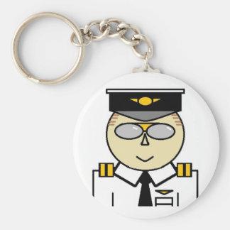 First Officer Keychain