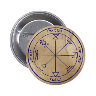 First Pentacle of Jupiter 6 Cm Round Badge