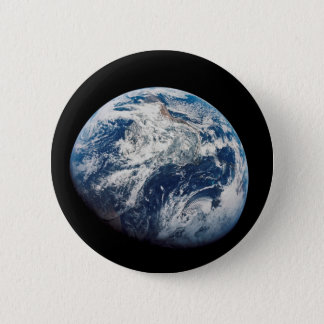 First photograph of the Earth taken by the Man 6 Cm Round Badge