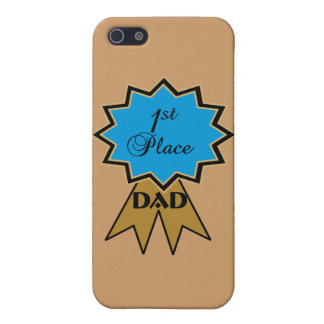 First Place Ribbon for Dad iPhone Case 5/5C/5S/4 iPhone 5 Covers