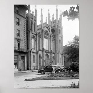 First Presbyterian Church, New Orleans, 1938 Poster