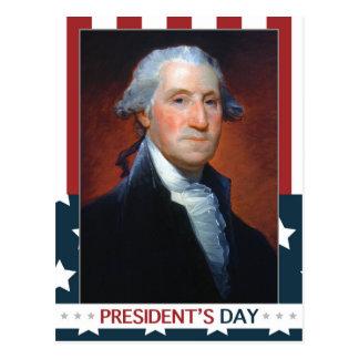 First President: George Washington Postcard
