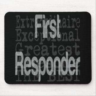 First Responder Extraordinaire Mouse Pad