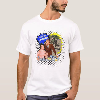 First Rodeo Retro Couple Bronc Rider ( color) T-Shirt