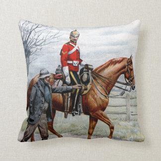 First Royal Dragoons Throw Cushions