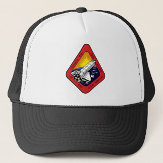 First shuttle off crazy planet? trucker hat
