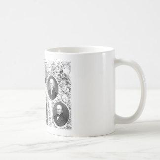 First Six U.S. Presidents Coffee Mugs