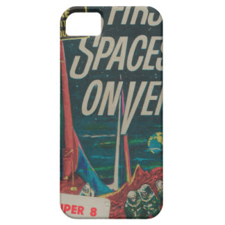 First Spaceship on Venus Vintage Scifi Film iPhone 5 Covers
