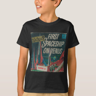 First Spaceship on Venus Vintage Scifi Film T-Shirt
