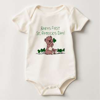First St. Patrick's Day Baby Bodysuit