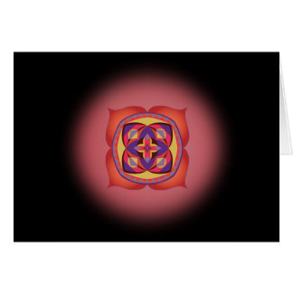 First Step to Soul Card with First Chakra Mantra