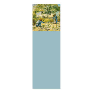 First Steps by Vincent van Gogh 1890 Pack Of Skinny Business Cards