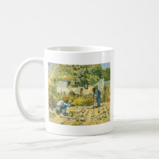 First Steps by Vincent van Gogh Basic White Mug