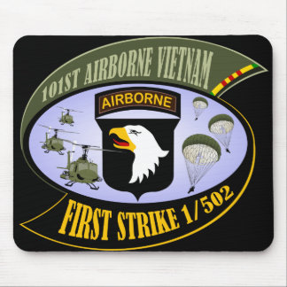 First Strike 1/502 Mouse Pad