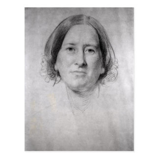 First Study for the Portrait of George Eliot Postcard