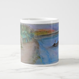 First Sunset in Playa Large Coffee Mug