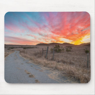 First Sunset of the Day Mouse Pad