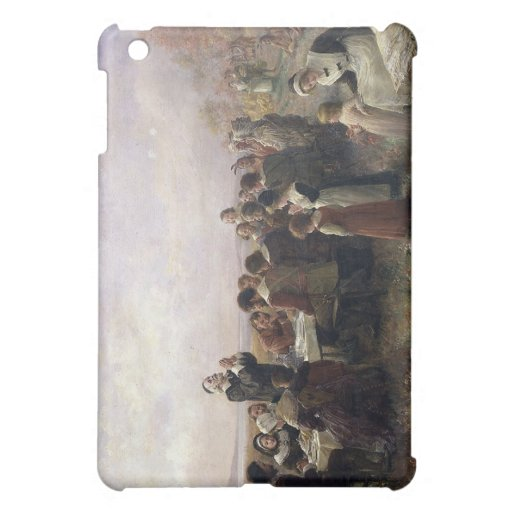 First Thanksgiving Vintage Painting iPad Mini Case