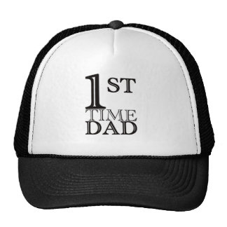 First time dad logo hat