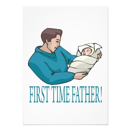 First Time Father Announcements