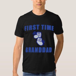 First Time Granddad Tshirts and Gifts