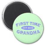 First Time Grandma 2010 Fridge Magnets