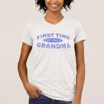 First Time Grandma Customizable Tee