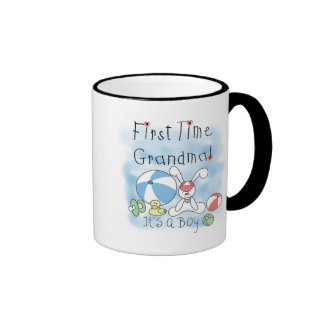 First Time Grandma of Boy Tshirts and Gifts Mug
