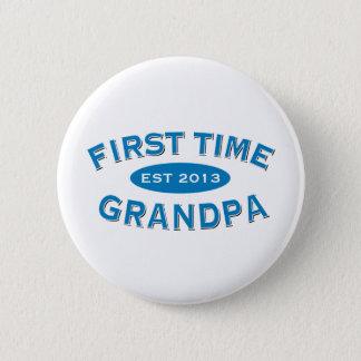 First Time Grandpa Customizable Button