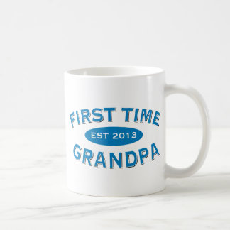 First Time Grandpa Customizable Mug