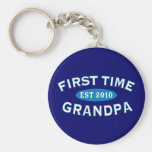 First Time Grandpa Keychains