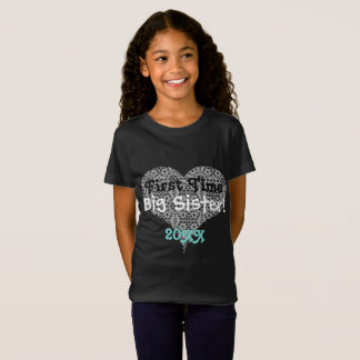 First Time Sister & Lace Heart T-Shirt