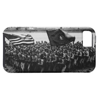 First to Fight A group of World War I Marines iPhone 5 Cover