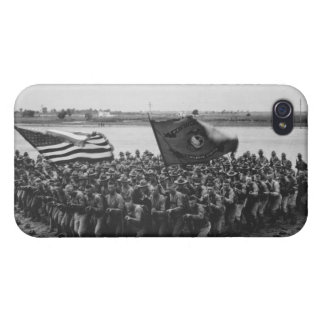 First to Fight - Marines - 1918 Cover For iPhone 4