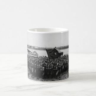 First to Fight United States Marine Corps 1918 Basic White Mug