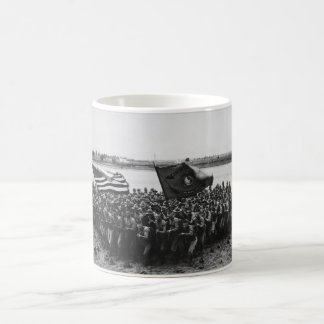 First to Fight United States Marine Corps 1918 Classic White Coffee Mug