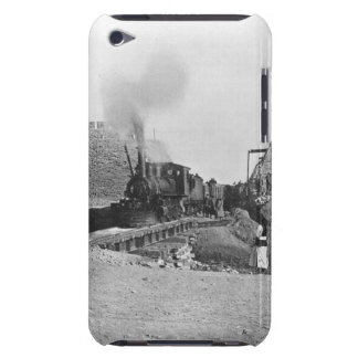 First train passing through the wall of Peking, Ch iPod Touch Cover