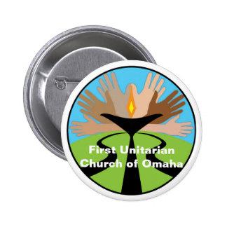 First Unitarian Church of Omaha 6 Cm Round Badge