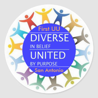 First UU Diversity stickers