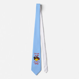 First was the Big Bang... necktie