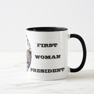First Woman President Mug