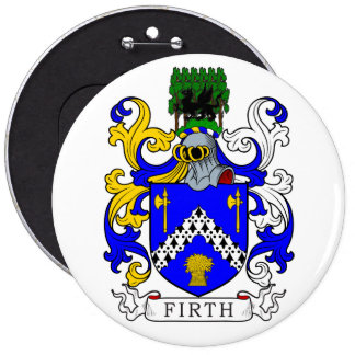 Firth Coat of Arms 6 Cm Round Badge