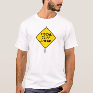 Fiscal Cliff Ahead T-Shirt