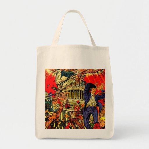 Fiscal Cliff Political Apocalypse Bag