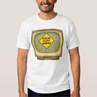 Fiscal Cliff TV T-Shirt Obama Senate Tax