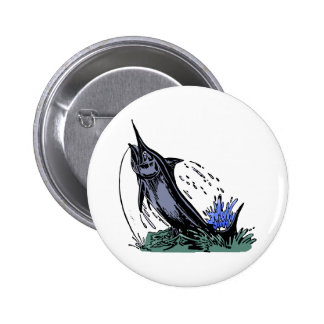 fisch Angel fish fishing rod Button
