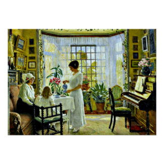 Fischer - Afternoon Tea Poster